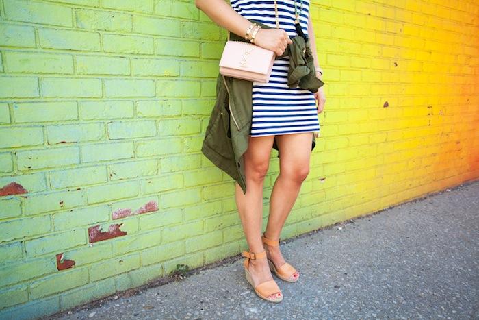 lou & grey striped t-shirt dress 5