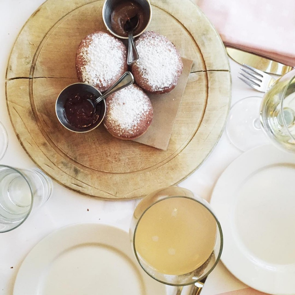 girls brunch  bellinis  beignets!