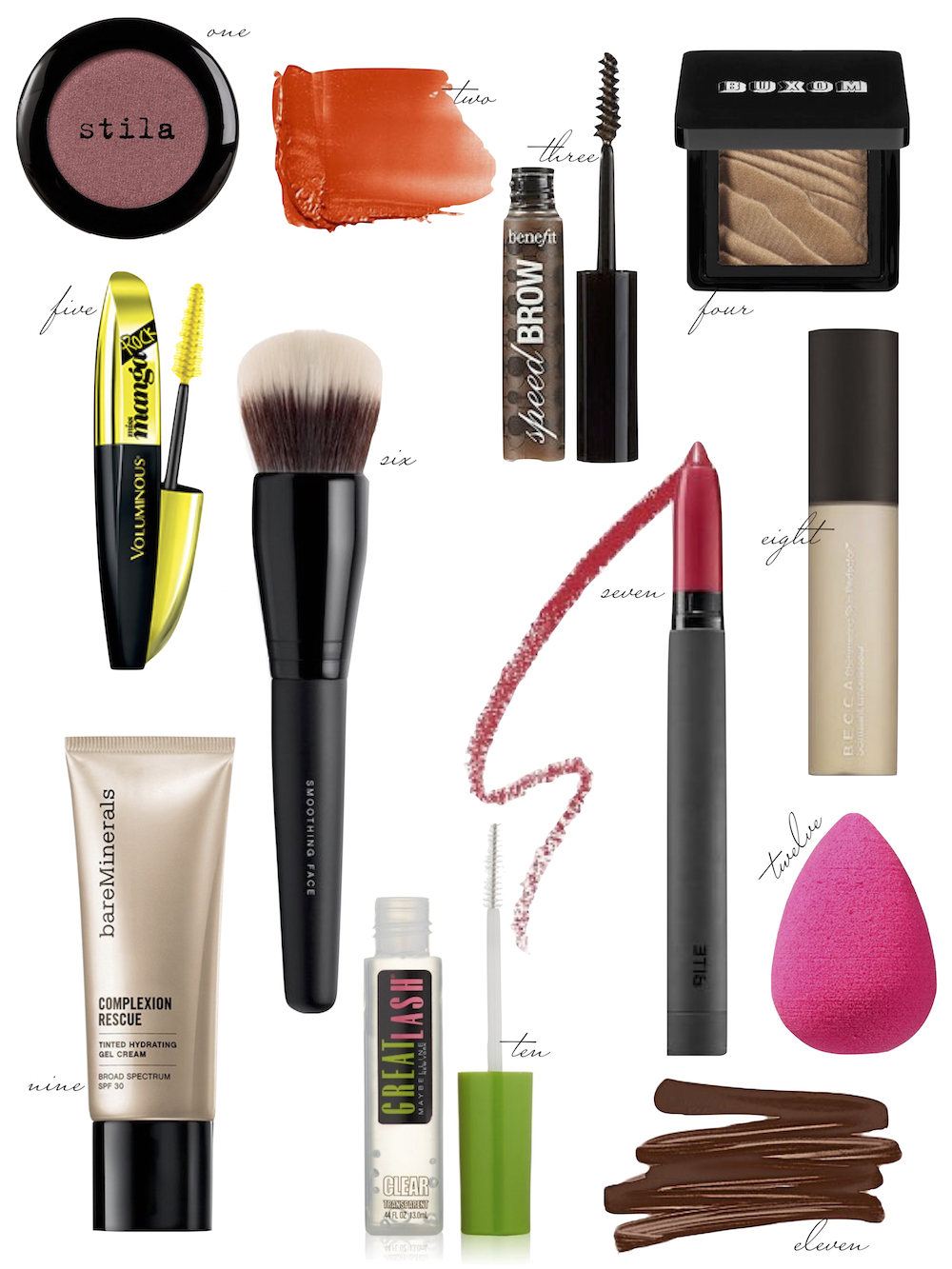 beauty collage - makeup