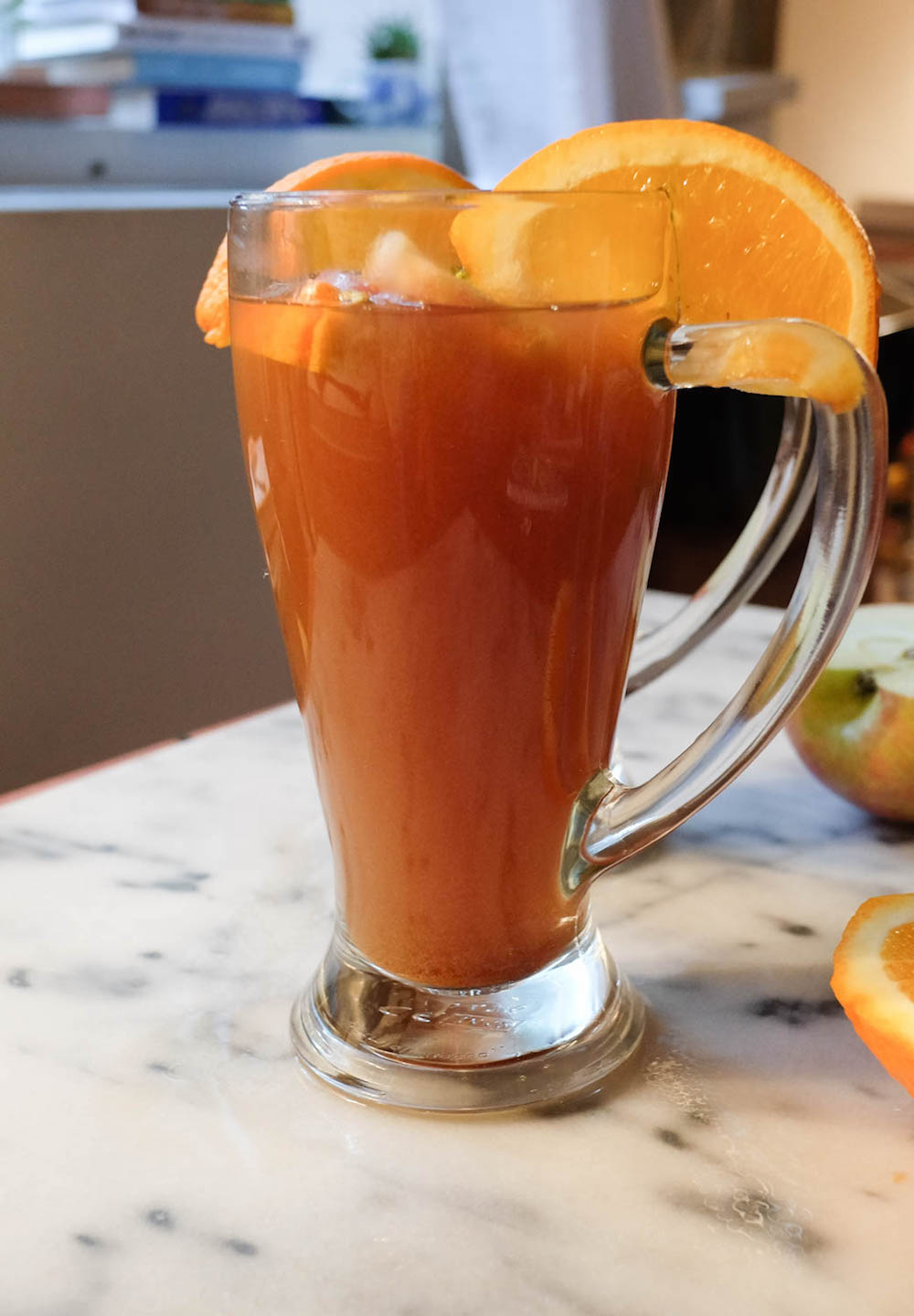 how to make hot apple cider drink