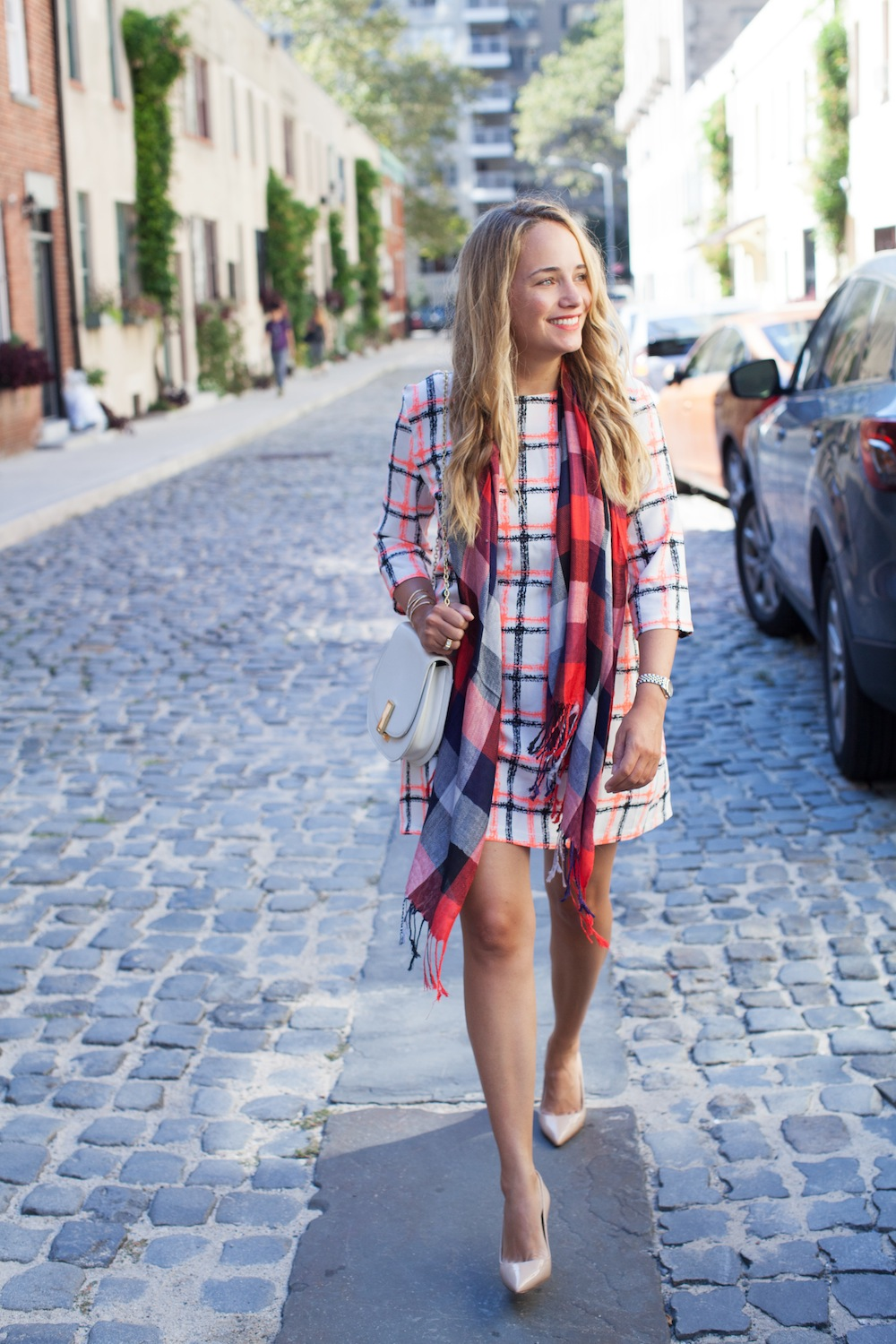 target fall plaid pieces - the stripe