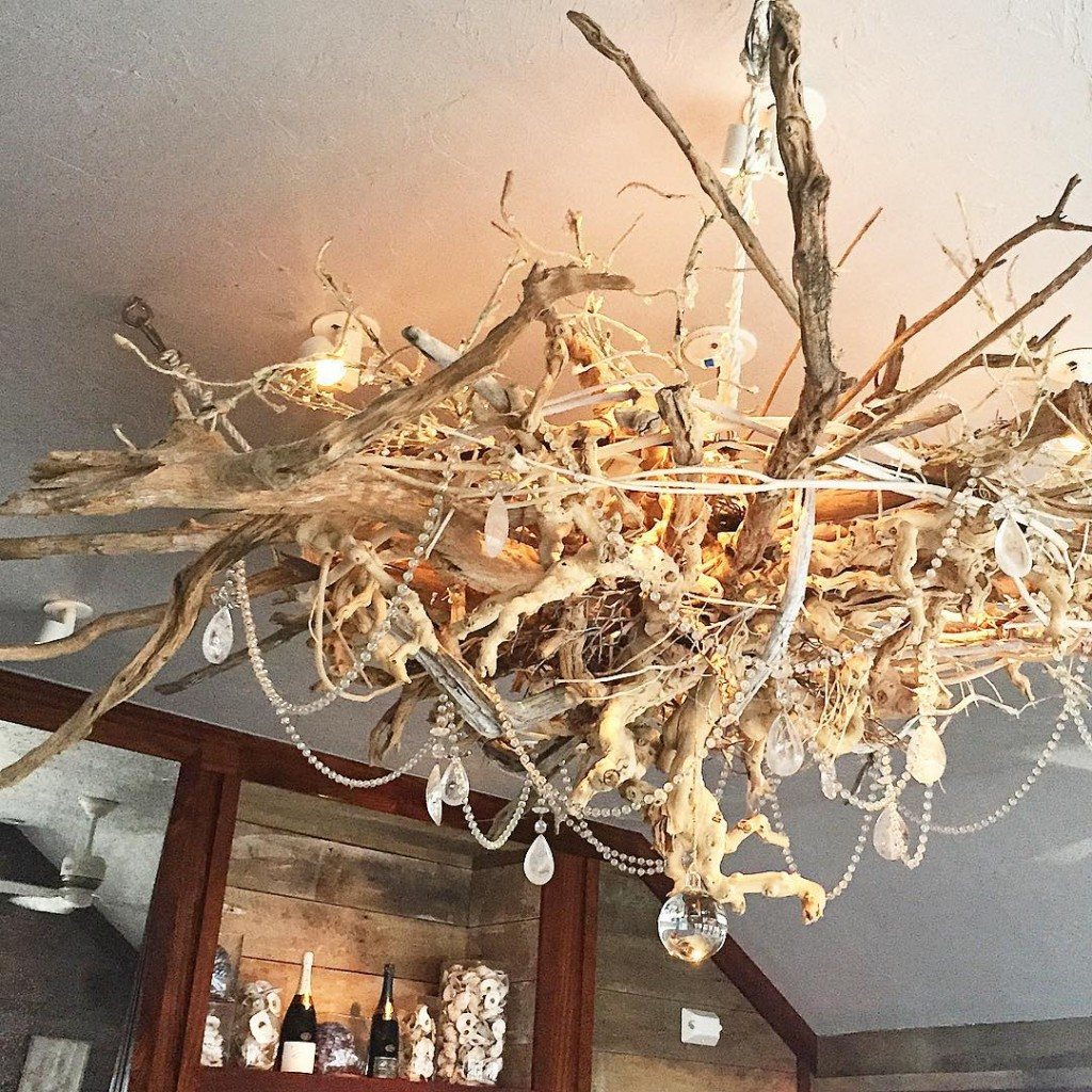 um how cool is this chandelier? ack fall