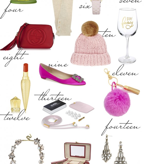 gift guide the stripe - girly girl