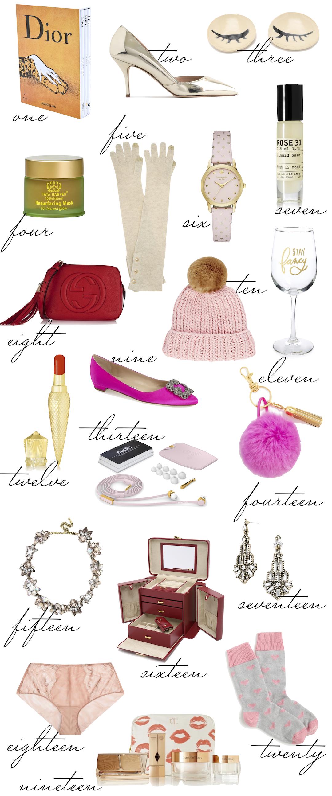 gift guide the stripe - girly girl