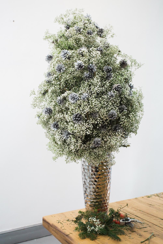 diy pine tree arrangement 1