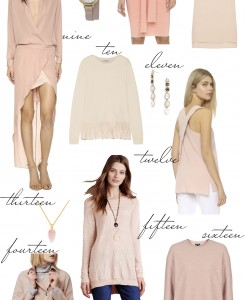 Blush Pink picks