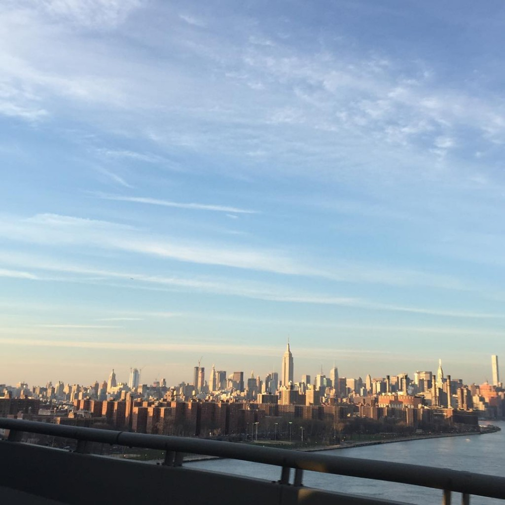 snapped this one going over the williamsburg bridge this afternoonhellip