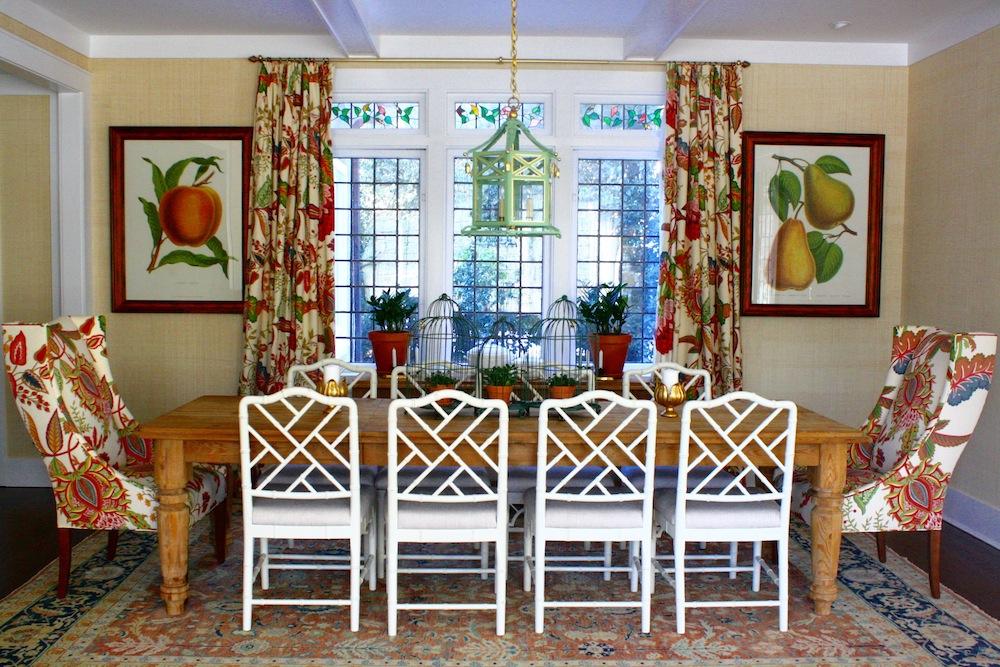 Brass Hill Botanical Dining Room