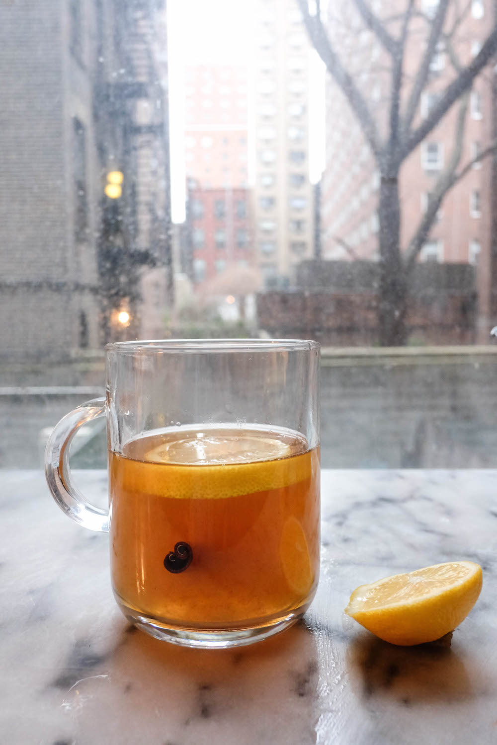 easy hot toddy recipe - the stripe