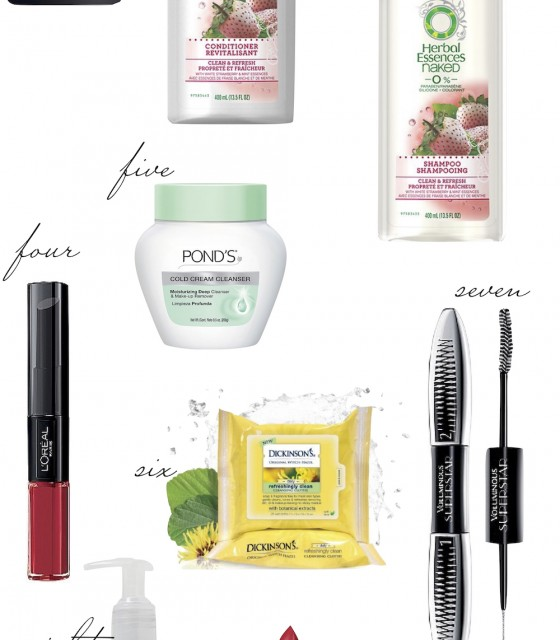 drugstore beauty faves