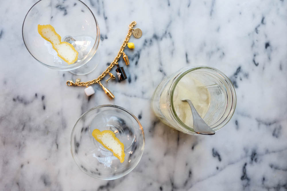easy french 75 recipe - the stripe.