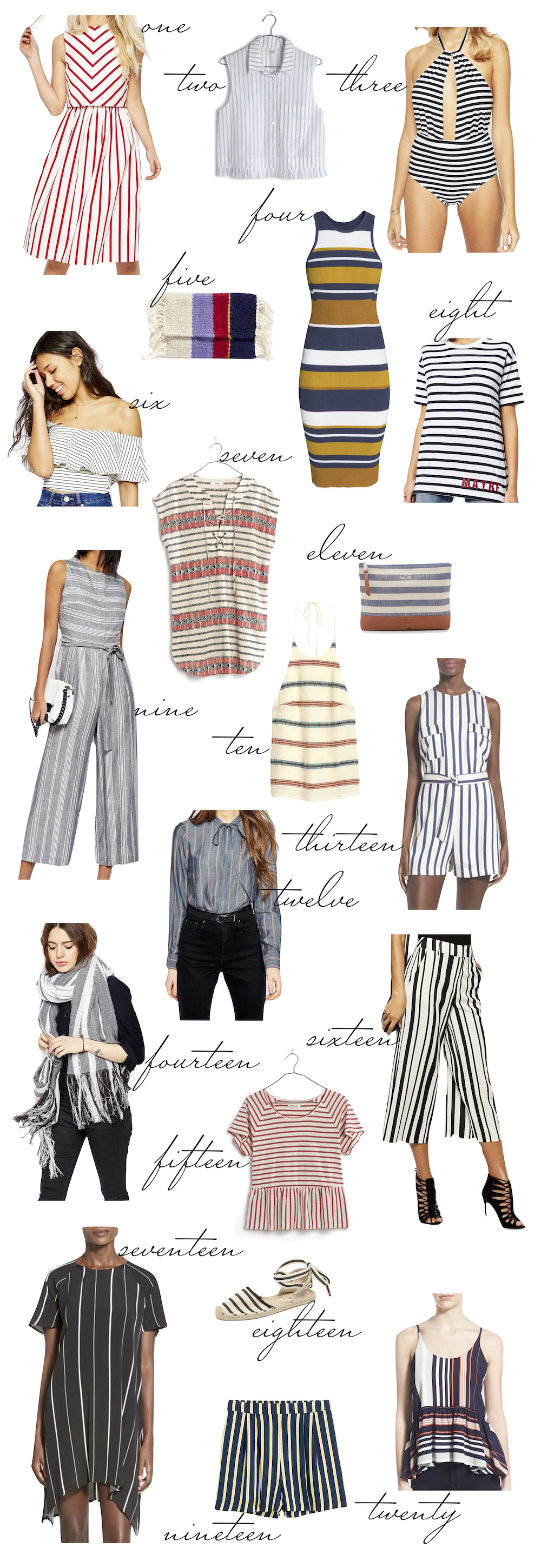 Striped Picks for under $100 - Kelly's Chic Under $100... The Stripe