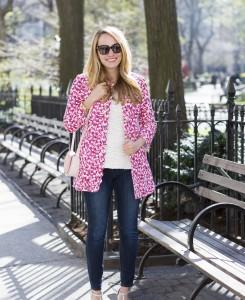 pink floral coat 1