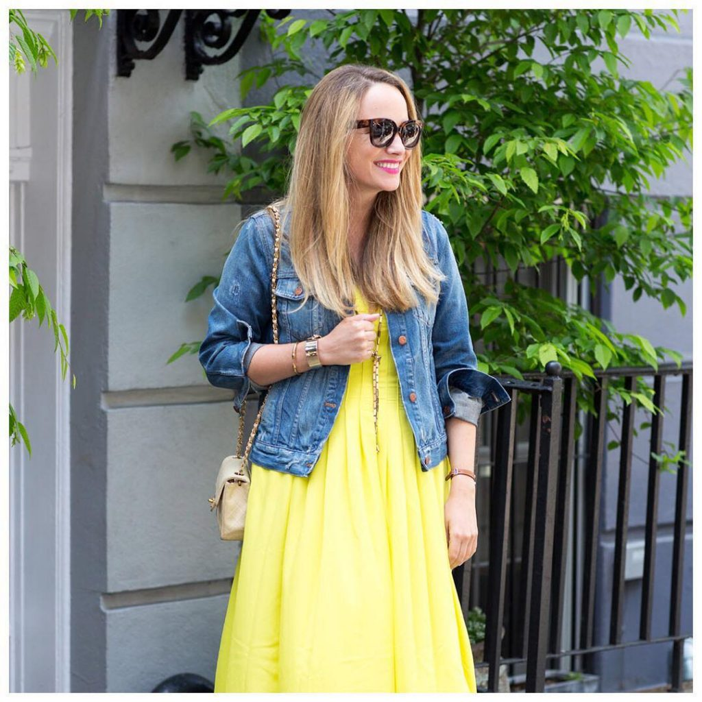 tomorrow on thestripe the prettiest yellow dress  and itshellip