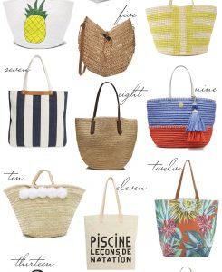 fave beach bags 2
