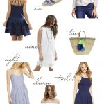 Kelly's Chic Under $100: Blue & White.