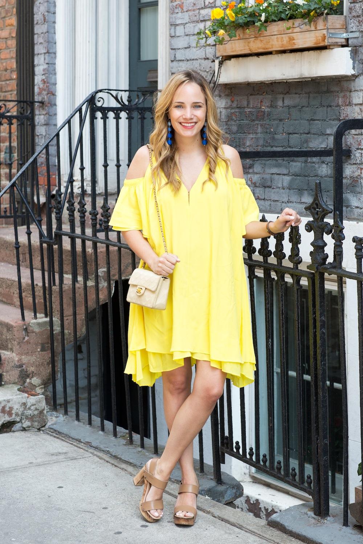 yellow apiece apart dress 6