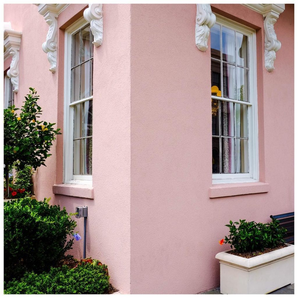 good morning from Charleston! pink goodmorning charleston sopretty