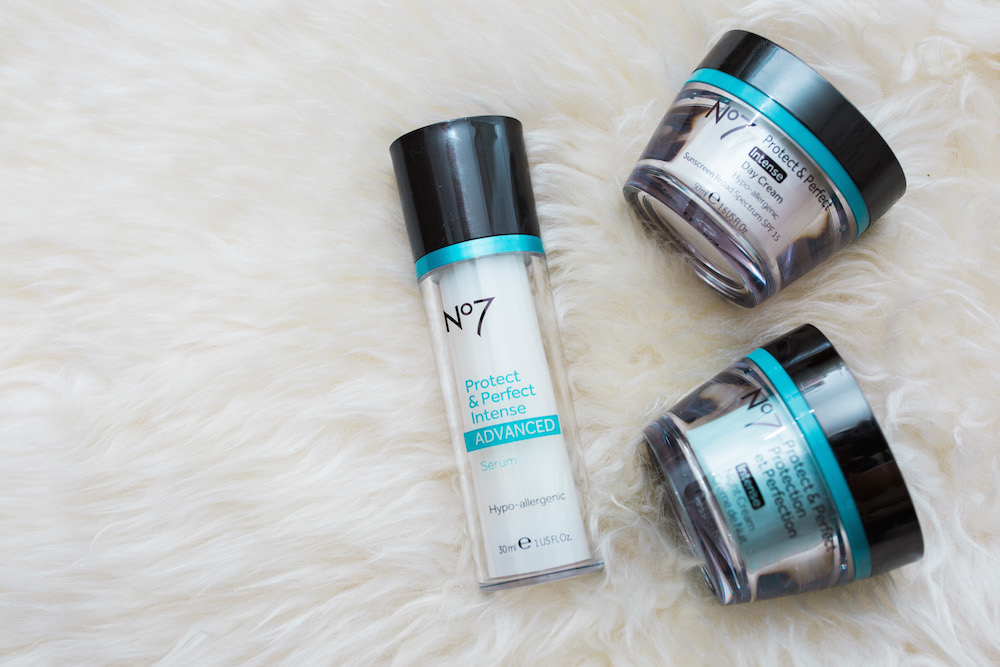Why You Need a Serum - The Stripe. No7 Protect & Perfect Intense Advanced Serum Review