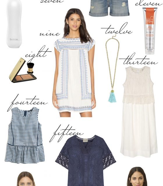 cape cod packing list