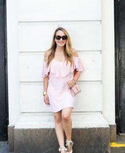 pink misa dress 1
