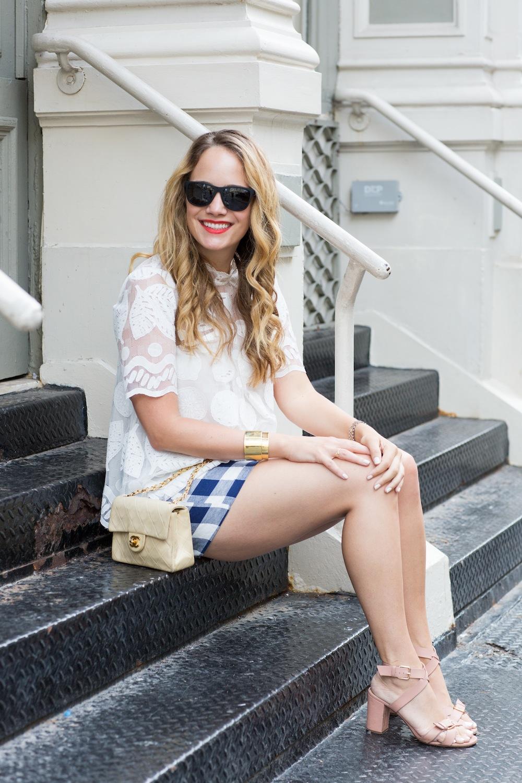 Polaroid Twist Sunglasses - Grace Atwood, The Stripe