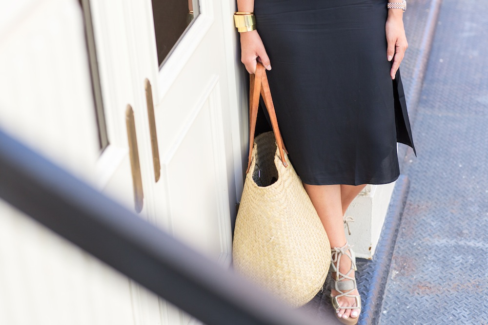 Grana Black Slipdress - Grace Atwood, The Stripe