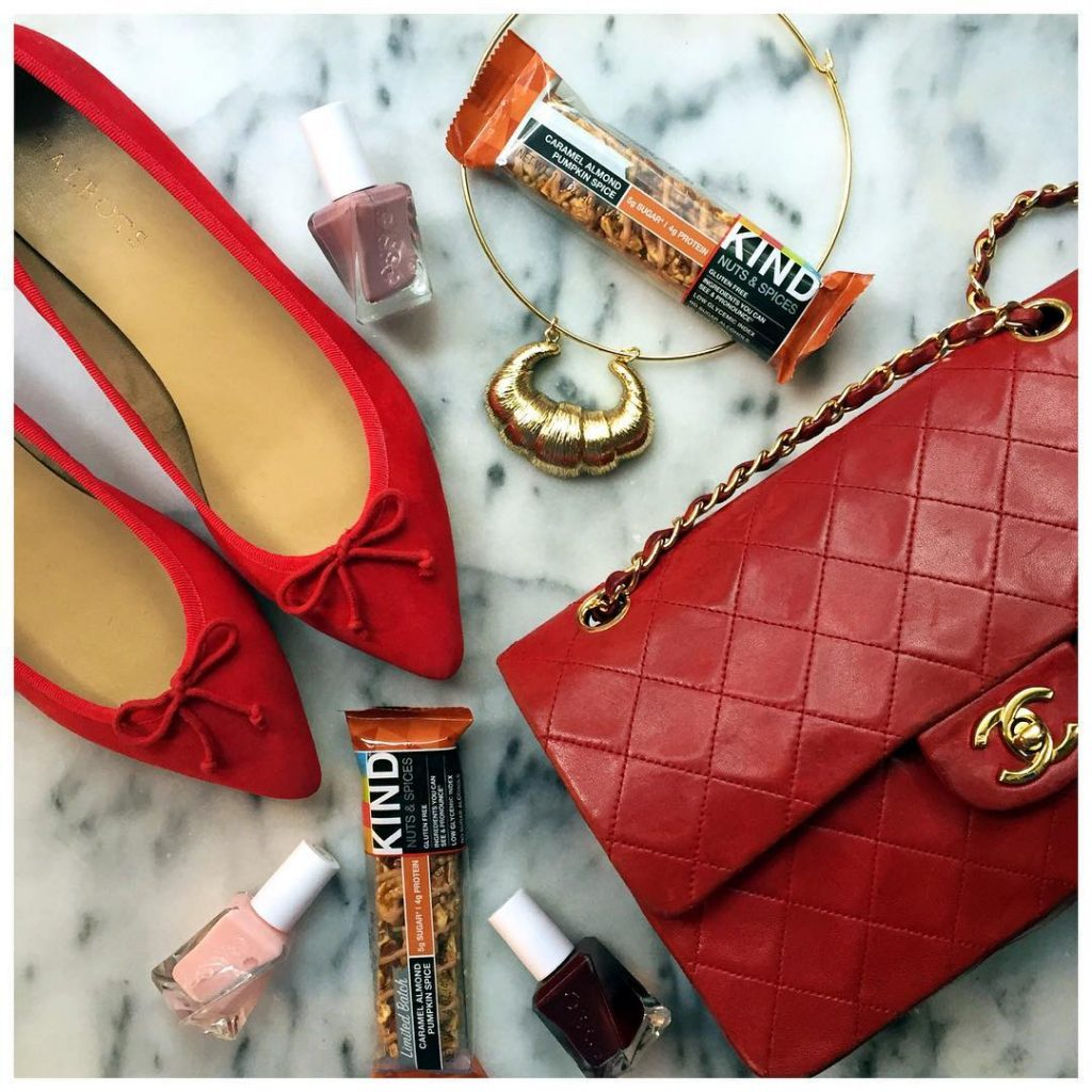 a few fall faves pops of red a croissant youhellip