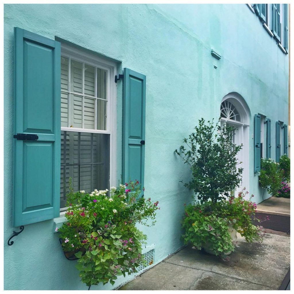 one if my favorite Charleston color combos  Charleston stripetravelshellip