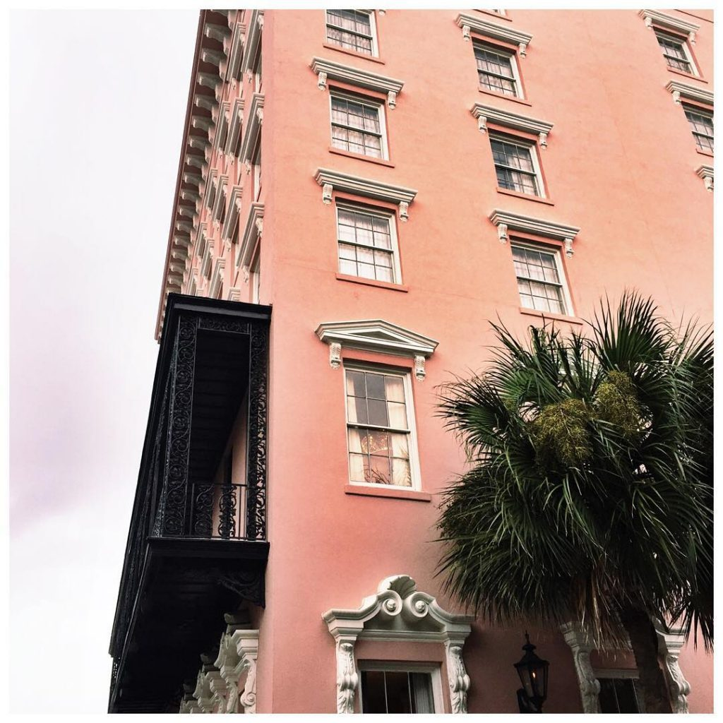 missing Charleston and its happy pink walls on this gloomyhellip