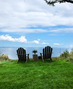 A relaxing weekend away // photo taken by Grace Atwood at the Caudalie founders' home in Hampton Bays, New York.