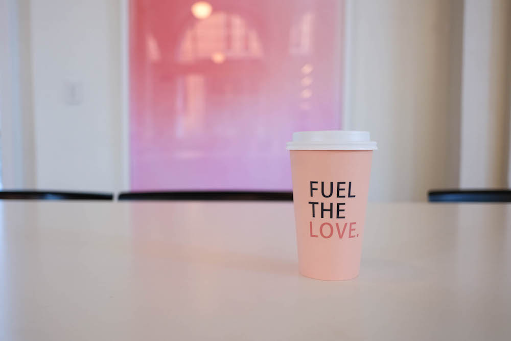 The Quirk Hotel Richmond VA. Grace Atwood The Stripe // Quirk Hotel Coffee Cups