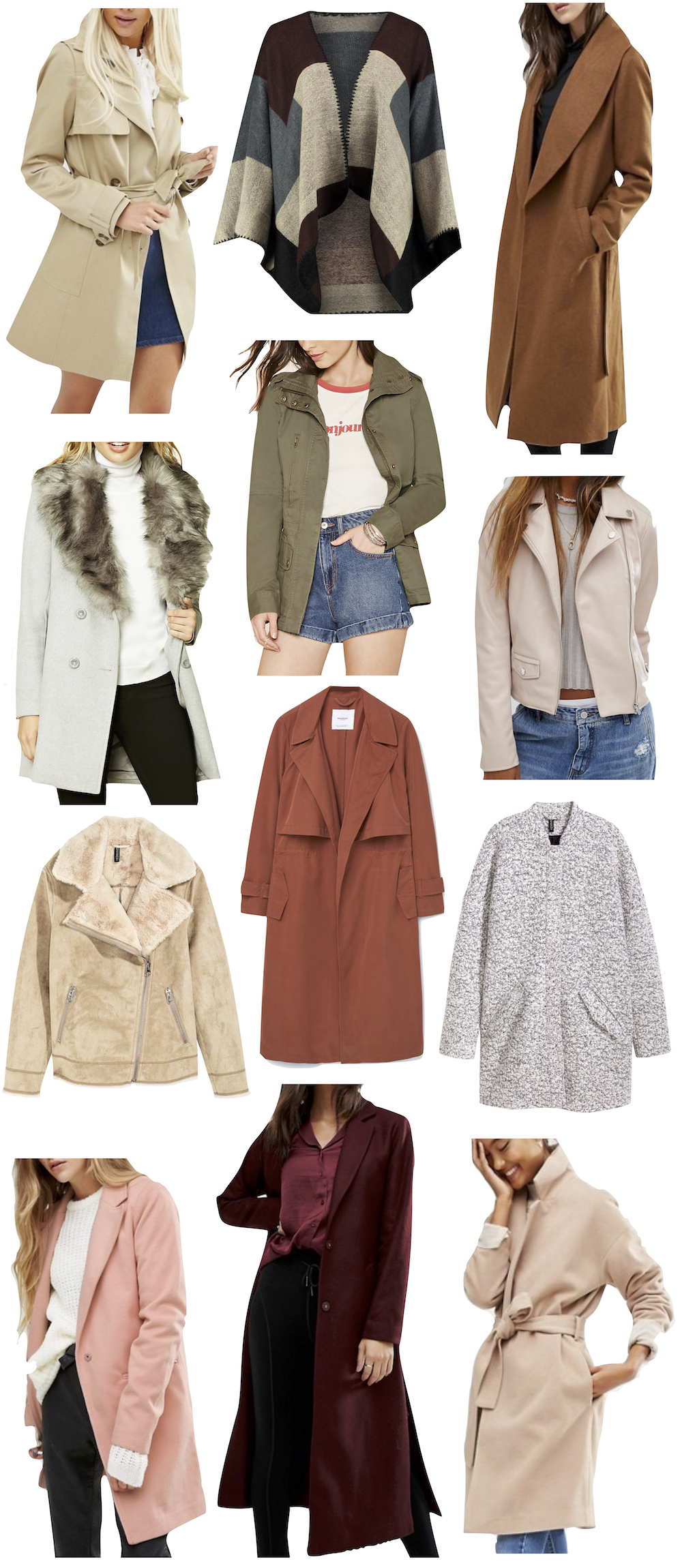 Affordable Fall Coats Under $100 - Kelly's Chic - Kelly Burns, The Stripe Blog