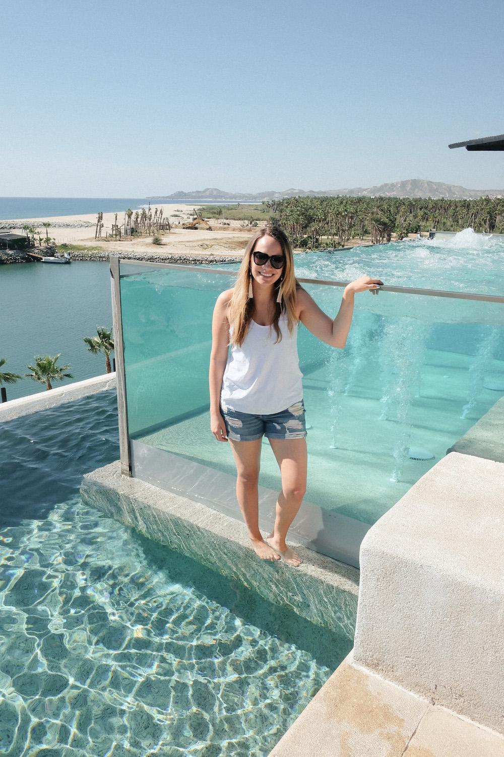 Los Cabos Mexico Travel Diary | Grace Atwood, The Stripe | El Ganzo Hotel Rooftop Views