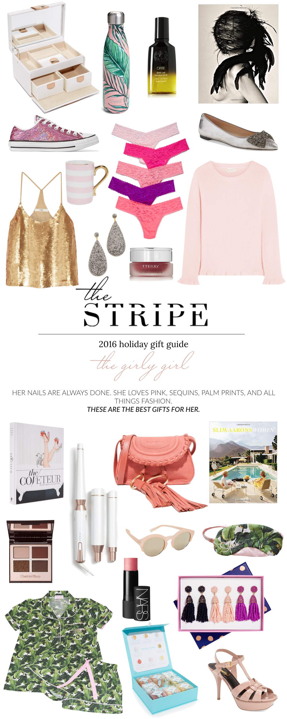 Best Gifts For Her 2016 The Girly Girl Stripe