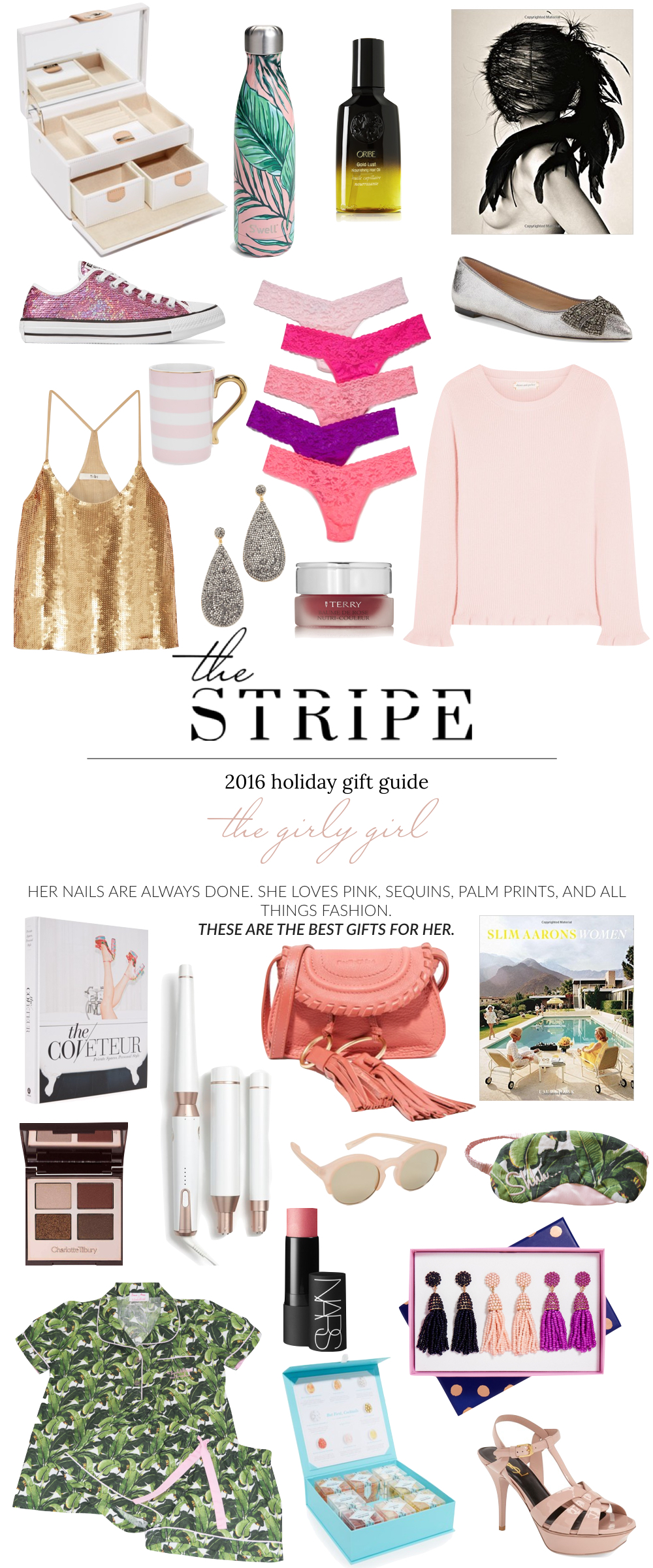 Best Gifts For Her 2016 The Girly Girl The Stripe