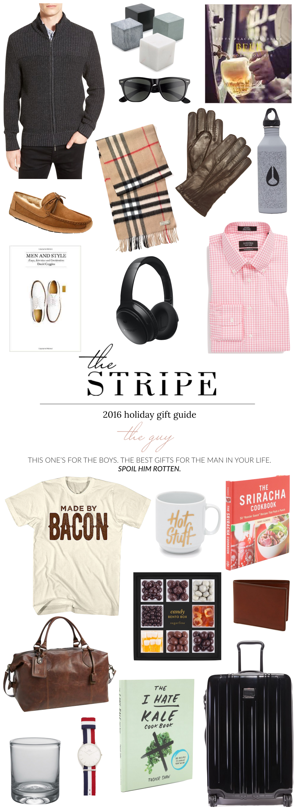 the best gifts for him 2016 the stripe blog