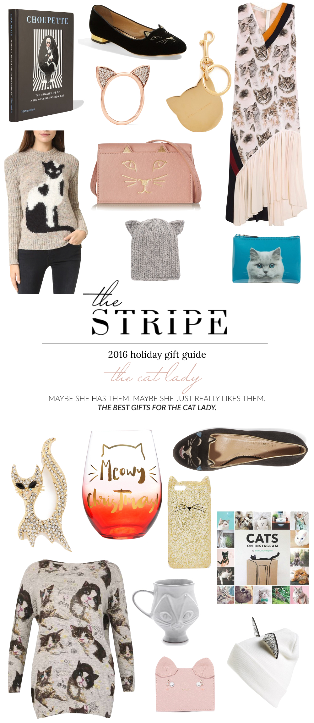 Gifts for the Cat Lady, Cat Lady Gifts - The Stripe.