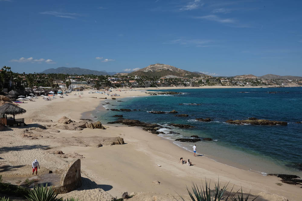 One & Only Palmilla Beach Area - Cabo | The Stripe Los Cabos Travel Diary - 2016 Los Cabos Film Festival