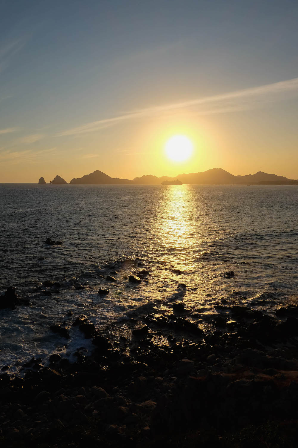 Sunset da Mona Lisa - Cabo | The Stripe Los Cabos Travel Diary - 2016 Los Cabos Film Festival