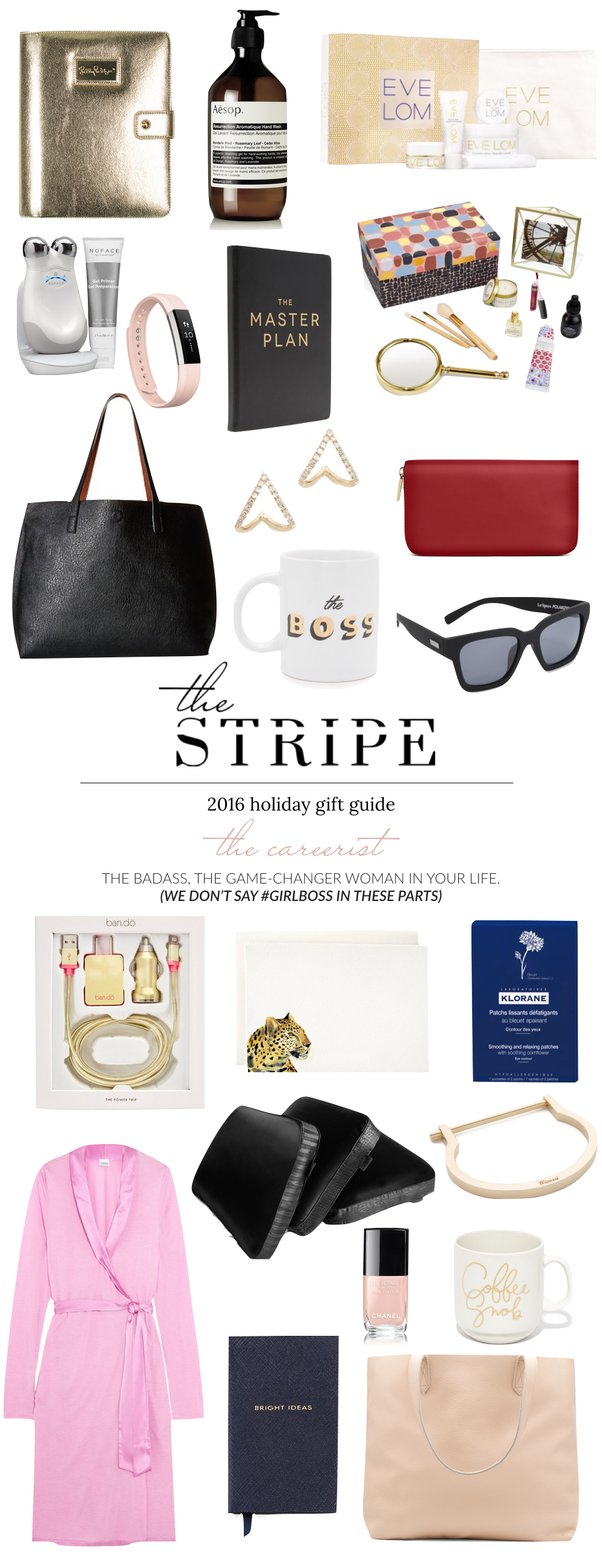 Gifts fro the Career Woman - The Stripe Blog, 2016 Gift Guide