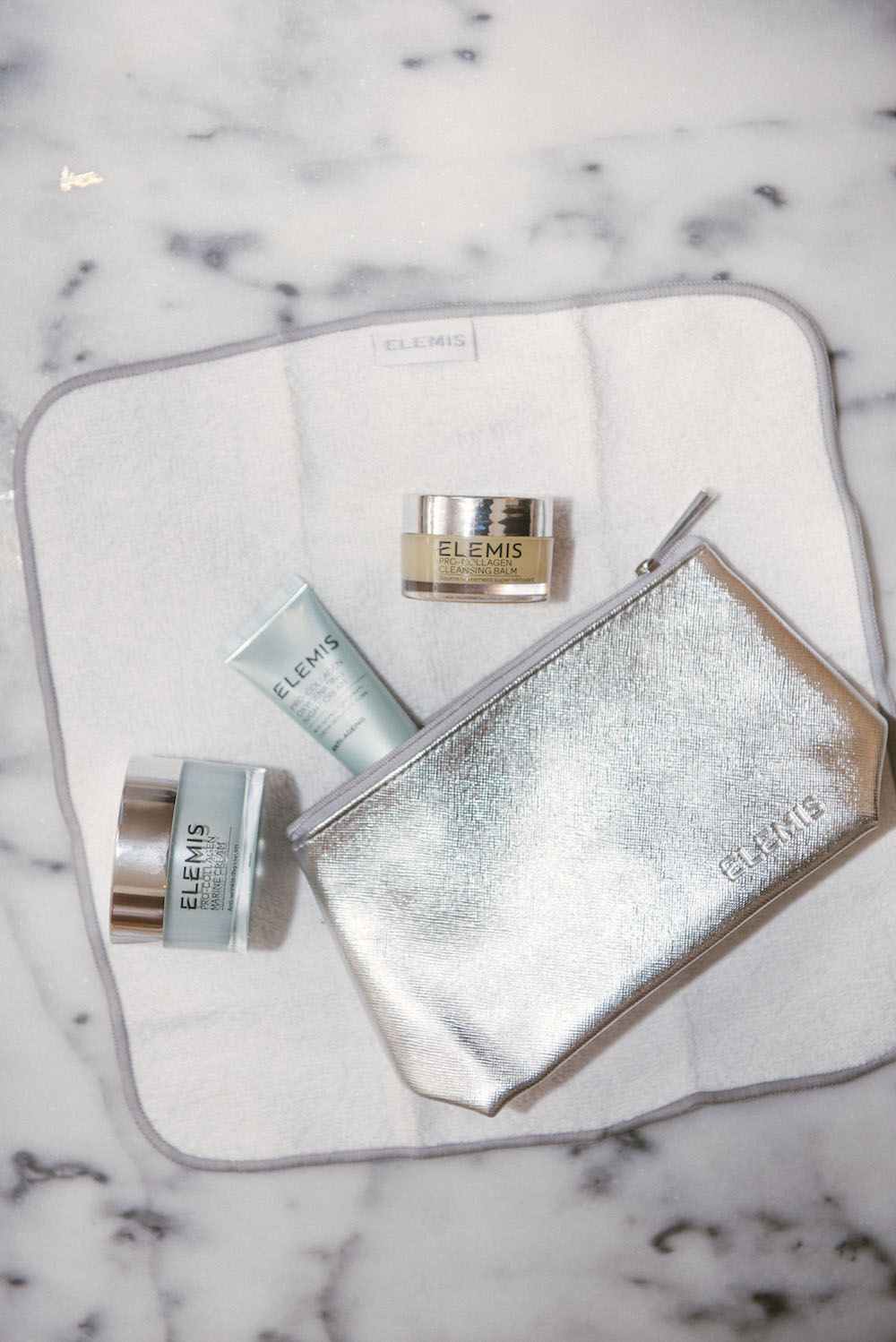 elemis pro-collagen 3-piece try-me kit at qvc / the stripe