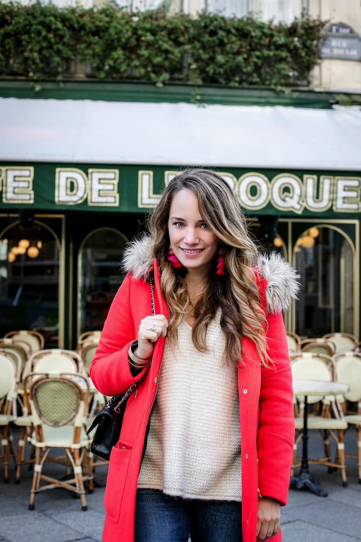 early mornings in paris | cafe de l'epoque paris | grace atwood, the stripe