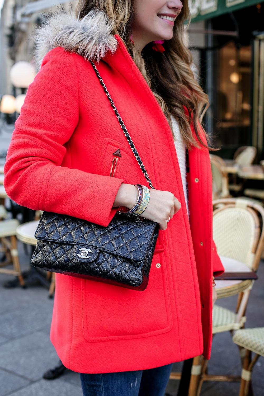 cute cozy outfit idea for paris | grace atwood, the stripe