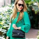 Emerald Dress in LA.