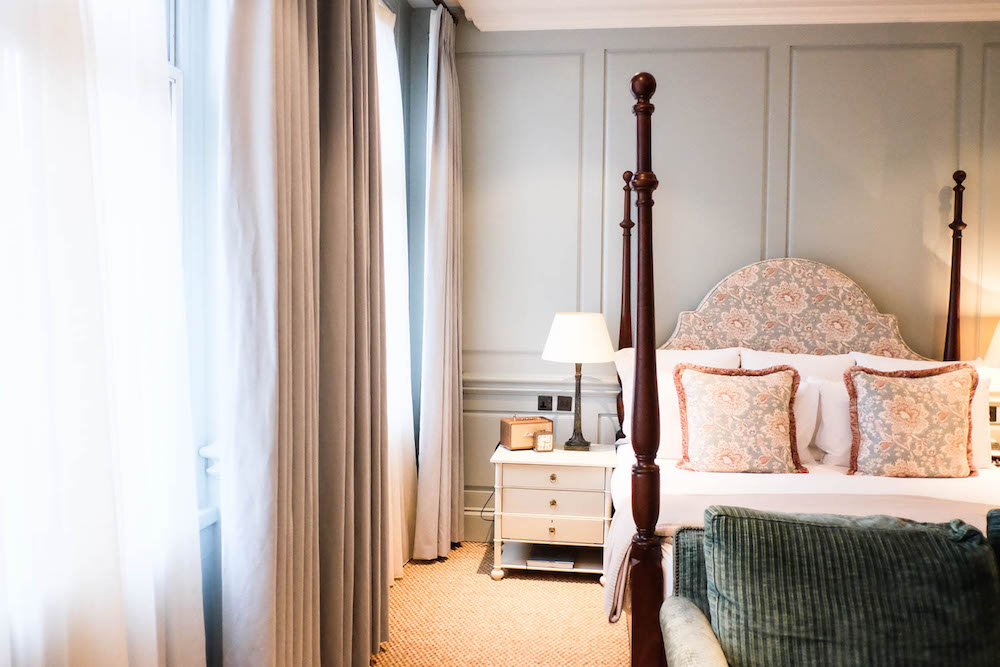 dean street townhouse | bedroom - the stripe, 36 hours in london