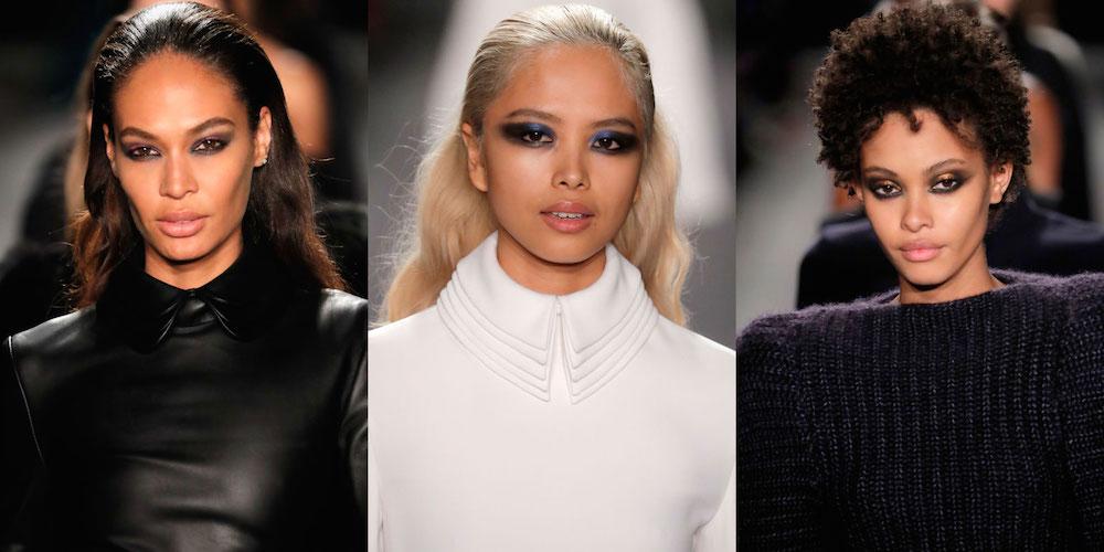 best nyfw fall 2017 beauty trends | brandon maxwell smokey eye
