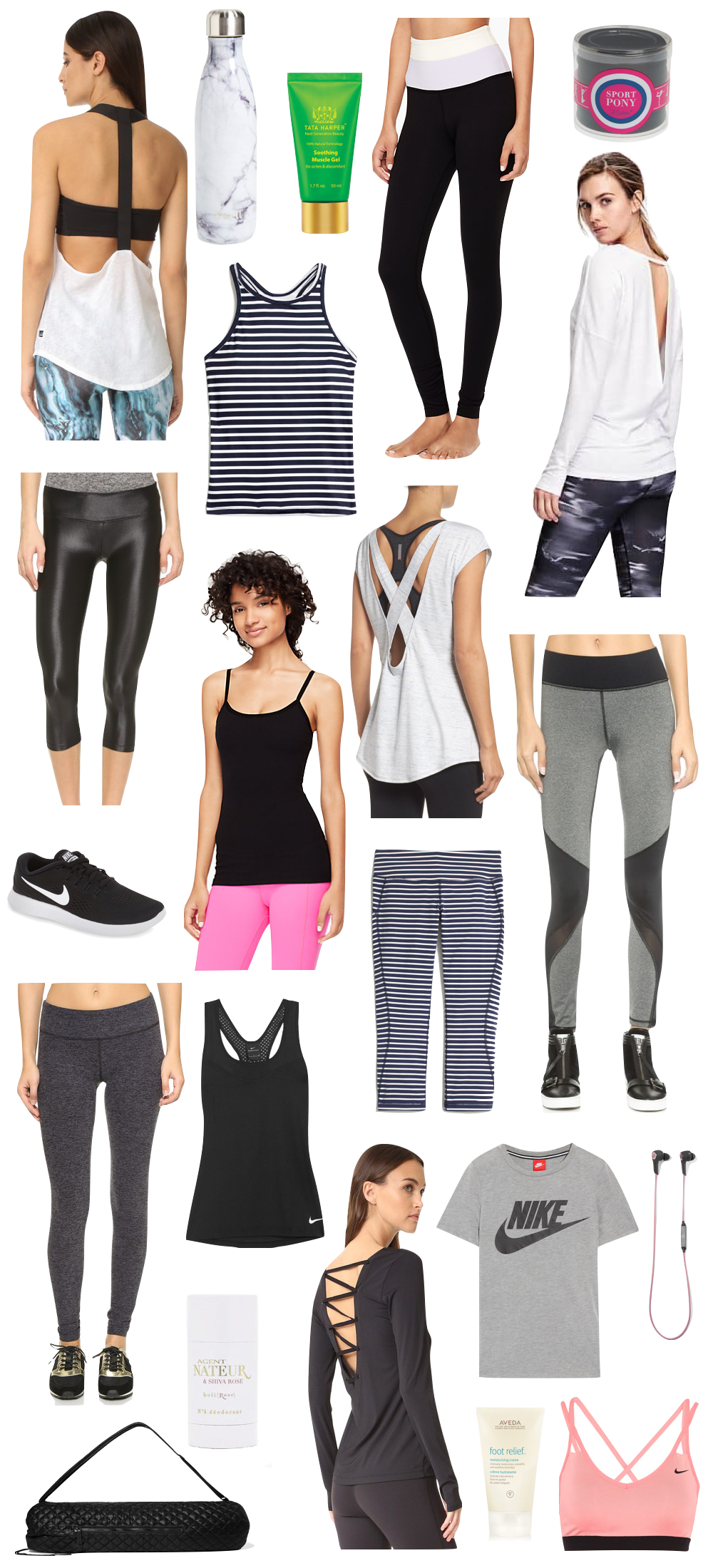 the cutest workout clothes spring 2017 | the stripe