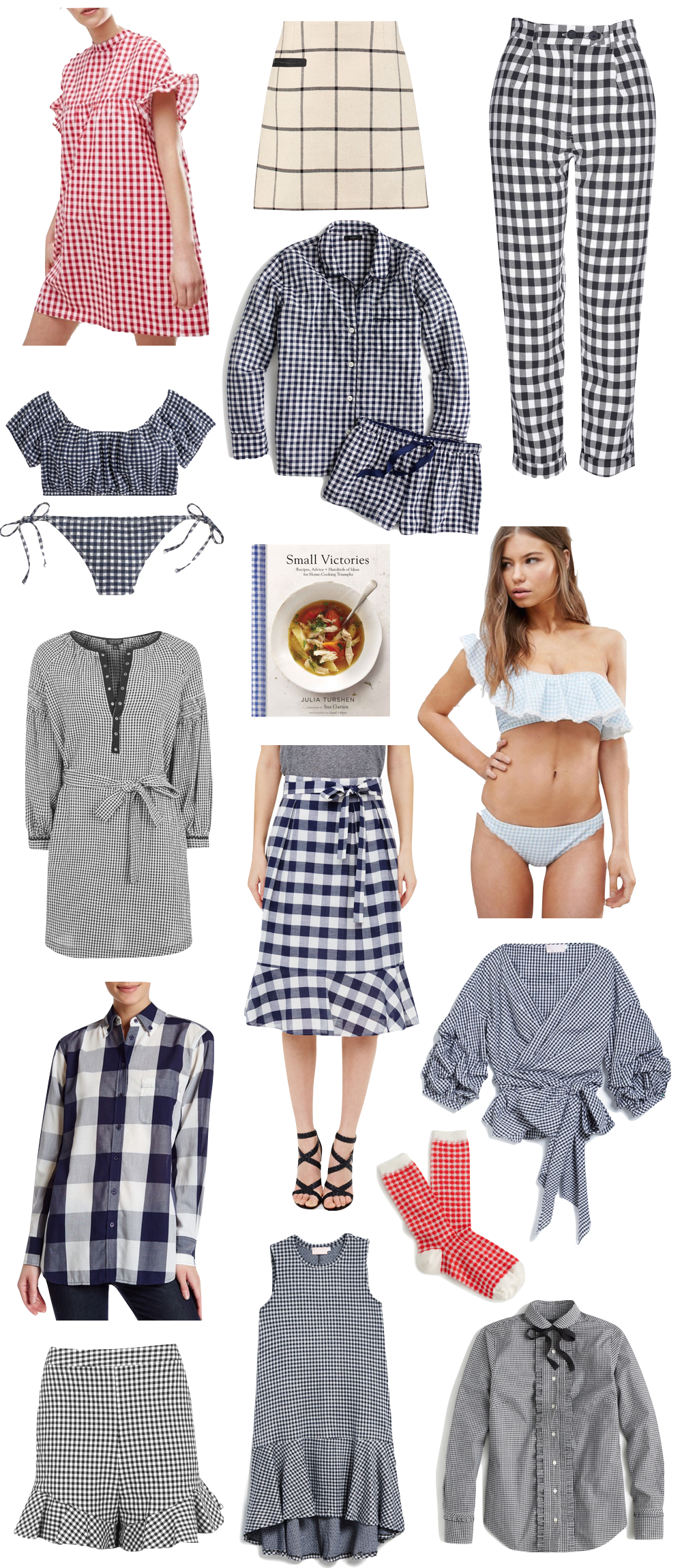 gingham under $100 | the stripe