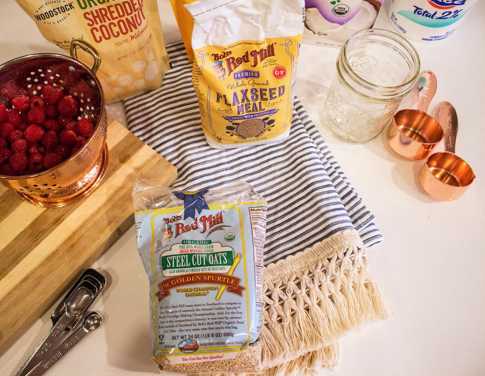 kelly's overnight oats - an easy overnight oats recipe   the stripe